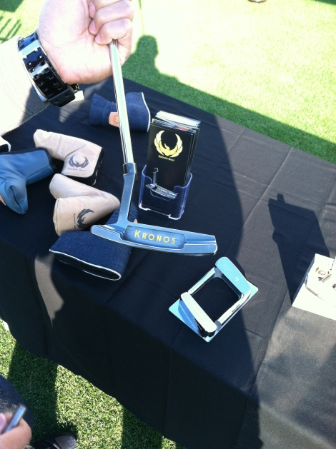 Kronos makes hand-milled putters. They are a small company based in California.