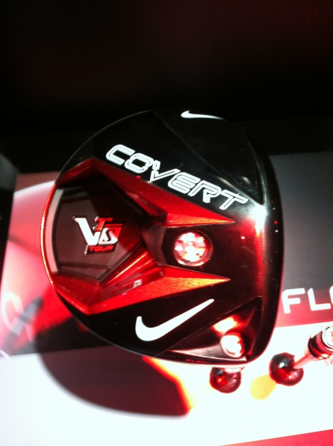 Nike's VRS Covert driver also features a high speed cavity back design to help with forgiveness across the face.