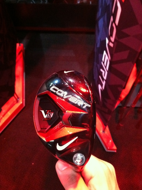 The VRS Covert Tour Fairway Woods features the same technology as the driver and fairway.
