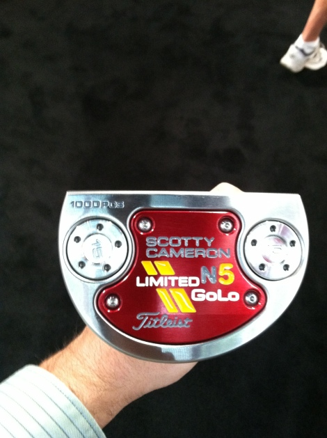 The ultra-sleek Limited GOLO from Scotty Cameron.