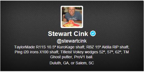 StewartCinkEquipment