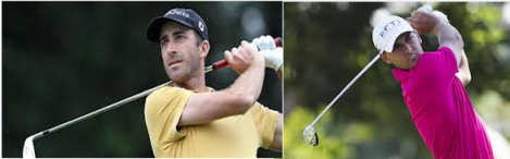 Geoff Ogilvy (left) and Charles Howell III (right) will skip this week's Valero Texas Open and consequently miss The Masters.